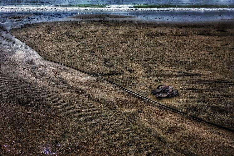 Beach Sand At The Beach Sand & Sea Sandals <3