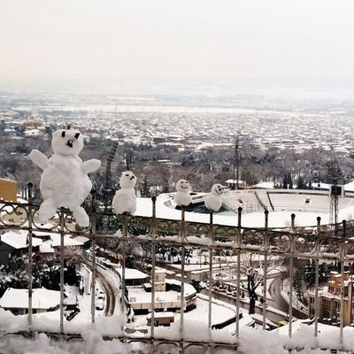 Snowman Bursa Bursakarmanzarası Bursakar Snow Kardanadam Atatürkstadyumu