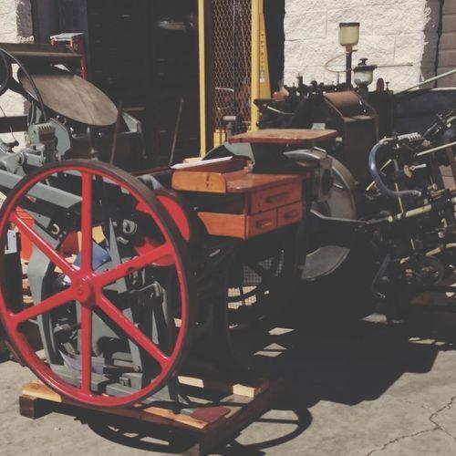 Printingpress Traditional