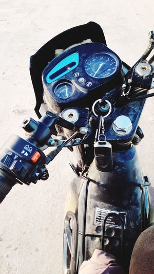 Motorcycle Outdoors Day Adult People One Person Lifestyles Travel Vacations جربة  تونس Tranquility