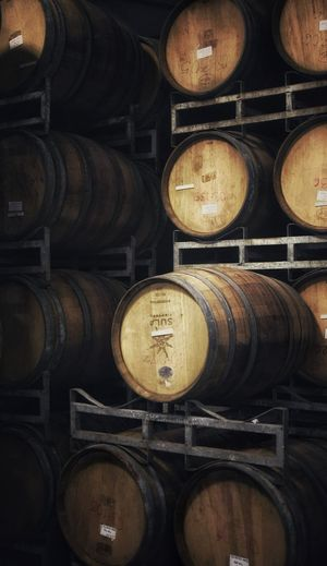 Wine Cellar Wine Cellar Winemaking Wine Cask Winery Shelf Food And Drink Alcohol Barrel Wood - Material