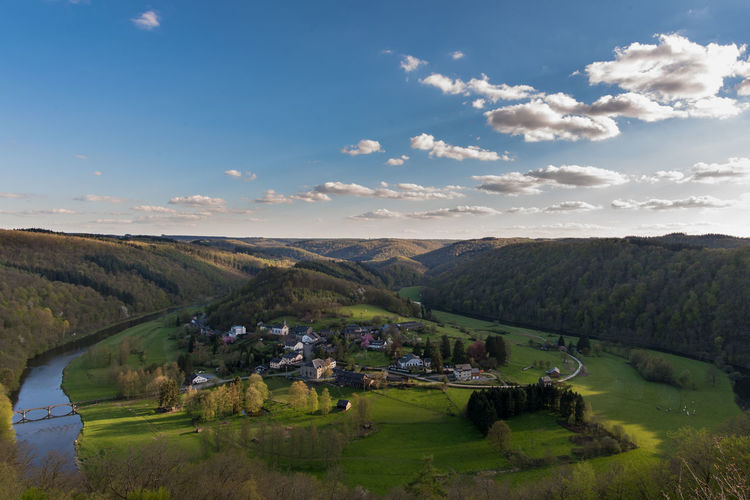 Ardennen Belgium Ardennes Ardennesbelges Beauty In Nature Belgique Belgium Cloud - Sky Field Frahan Idyllic Landscape Mountain Nature Nature Outdoors Rochehaut Rural Scene Scenics Sky Town Tranquil Scene Tranquility Village The Great Outdoors - 2016 EyeEm Awards