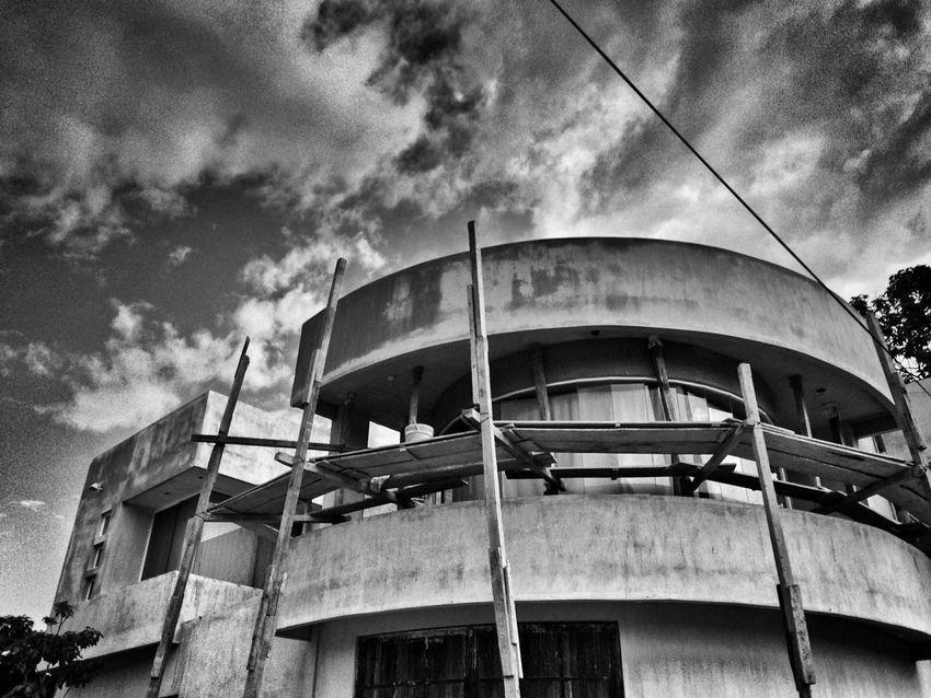Construcción Streetphotography IPhoneography Urban@ndante Monochrome Blackandwhite