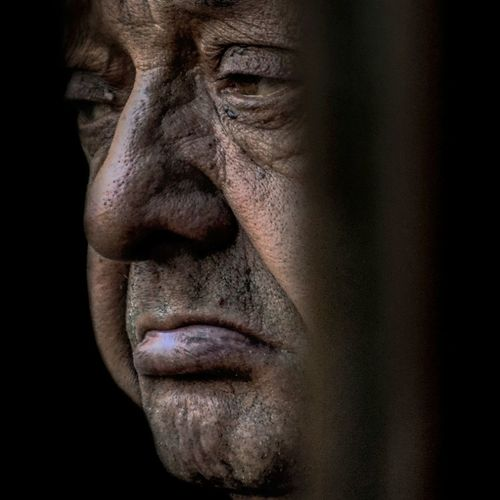 Anonymous portrait... One Man Only Human Face People Mature Adult Facial Expression EyeEm Best Shots Exhibition Exhibit Art Photographic Photograph Photographer Gallery Visitor Watchers Watch See Look Looking Private Public Blurred Blur Out Of Focus Photography Documentary Reportage Street Exhibition Pieces Human Hand Human Skin The Human Condition Contemplation One Woman Only Human Eye RePicture Ageing Street Portrait Exhibition Center Beauty Real People Touching Streetphotography Human Representation One Person Human Body Part Only Men