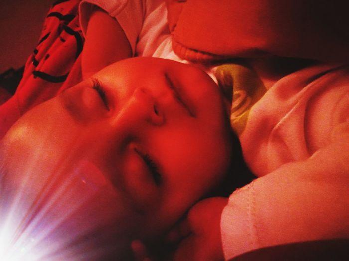 Minik kelebek :) Sleeping