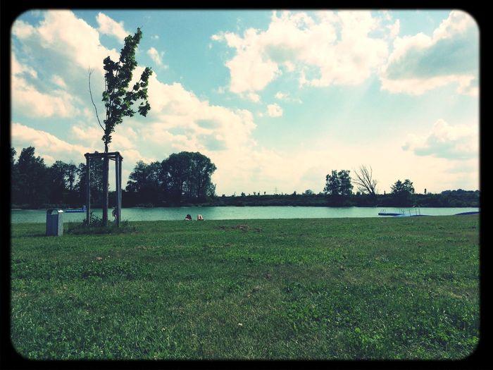 Lake Bavaria enjoy the Enjoying The Sun Relaxing