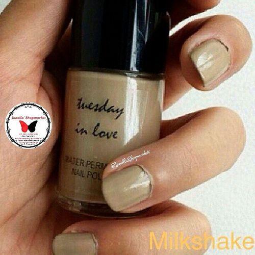 ☆TUESDAY IN LOVE ☆ Nailpolish … Finally, a nail polish for muslim women, Tuesday in Love is a Canadian company specializing in water permeable nail polishes … … KODE: 1 ⇨ MILKSHAKE … ⇨HALAL ⇨Bisa dibawa shalat ⇨Aman Dipakai utk Cewek muslim dan Anak2 ⇨Original 100% ⇨Mudah Dibersihkan ⇨Mudah Dikelupas, Bisa tanpa menggunakan Aseton ⇨Air dapat Menyerap ke Kuku ⇨Tidak Merusak Kuku … Minat? ⇨Line: ollabutterfly ⇨BBM: 7d317d9c ⇨Transfer only BCA and MANDIRI ⇨Serious Buyer Only Happy Shopping I`Shop ~ ❤ … Kuteks Nailpolish Inglot Inglotnailpolish kuteksinglot halal kutekshalal halalnailpolish muslim inglotmurah kuteksmurah opi rubi pokari kuteksoriginal originalnailpolish zoya enamel ollamossabil ianollashopmarket goshmurah Palangkaraya banjarmasin pontianak nyx balikpapan etude oriflame hijab tuesdayinlove