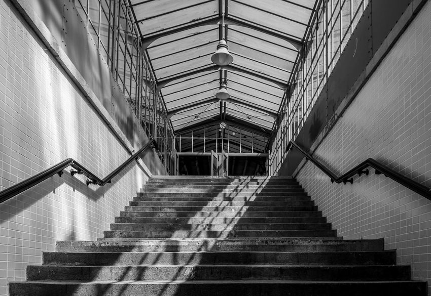 S-bahnhof Subway Station Best Of Stairways Staircase Steps And Staircases Architecture Built Structure Railing Low Angle View Direction Wall - Building Feature The Way Forward Indoors  Moving Up Diminishing Perspective Pattern No People Absence