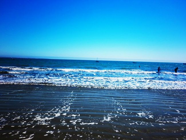 Zameos Piura Peru Playa Sea Horizon Over Water Sky Beach