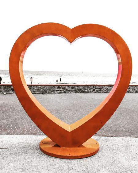 Beach Sculpture EyeEm Selects Love Circle Water Close-up Heart Shape I Love You ArtWork Shape Art