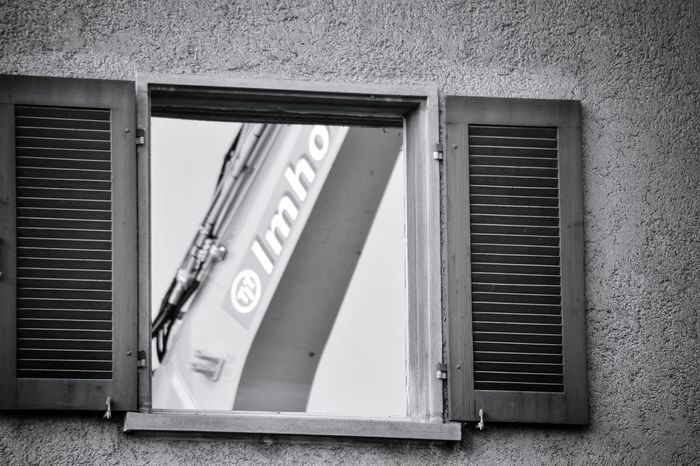Building Exterior Built Structure Shutter Window Architecture Outdoors Closed No People Black & White Monochrome Photograhy Monochrome Photography Monochrome Collection Black And White Photography Monochrome _ Collection Taking Photos Mypointofview Destruction Destroyed Buildings Working Working Hard
