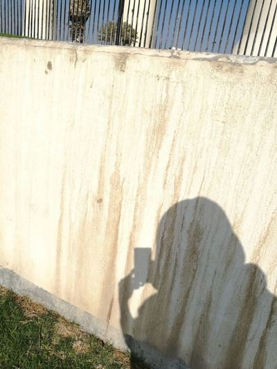 Selfie shadow Concretewalls Close-up One Man Only Outdoors Outdoors street photography Standing Still One Person