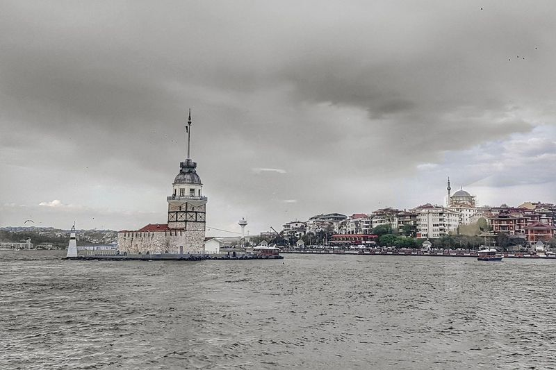 Istanbul Desaturated Istanbul Istanbul Turkey Sea Sea And Sky Seascape Desaturated Desaturation Architecture Travel Destinations Travel Travel Photography