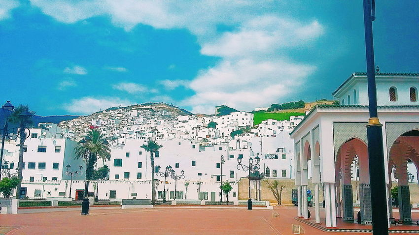Morocco City Cloud - Sky Day North Outdoors Sky Tetouan