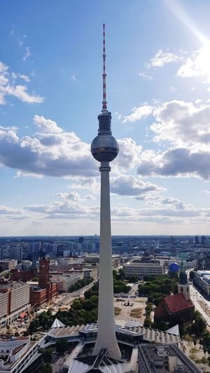 Jeans Brown Photography - Berlin Berlin Jeans Brown Photography City Cityscape Urban Skyline Global Communications Technology Modern Skyscraper Water Communication Aerial View Television Tower German Culture Office Building Tower