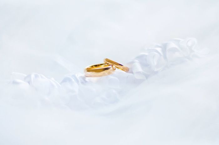 Wedding Photography Wedding Rings Gold Bands Macro