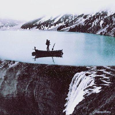 Art Surreal Lake