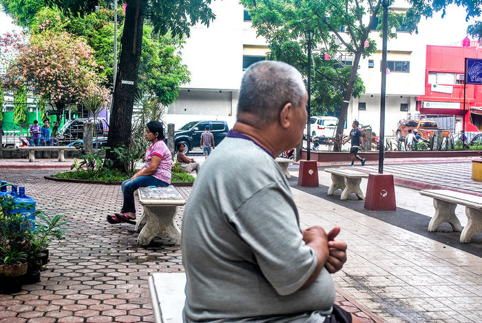 Building Exterior Eyeem CDO Eyeem Philippines From My Point Of View From Where I Stand Mature Adult One Person Outdoors People Street Street Photography Street_photo_club Streetphoto_color Streetphotographer Streetphotographers Streetphotography The Places I've Been Today The Week Of Eyeem The Week On EyeEm Tree Yvetteannrsp