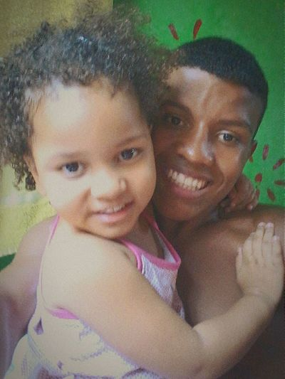 Minha afilhada e meu irmão lindo..♥♡💖 First Eyeem Photo