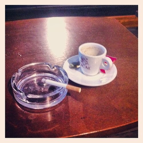 Bad but unfortunately I have the vice Cofeeandcigarettes Cofee Cigarettes