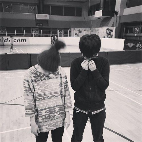 兩位可愛的教練Mickey_Fu Miss_lo