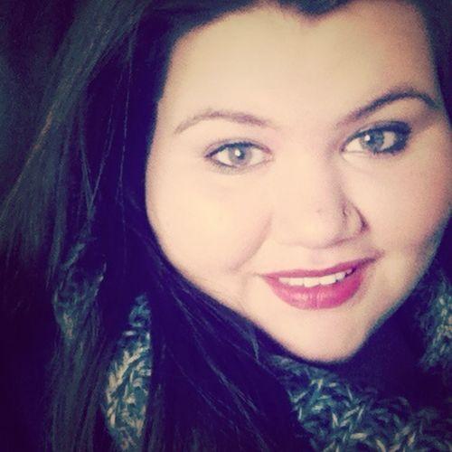 #redlips #smile #hazeleyes #longhairdontcare #selfie
