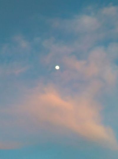 Moon ⭕ Cloud -