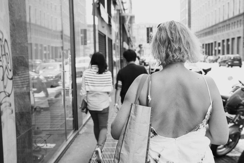 Walking Woman City Day Outdoors The Street Photographer - 2017 EyeEm Awards