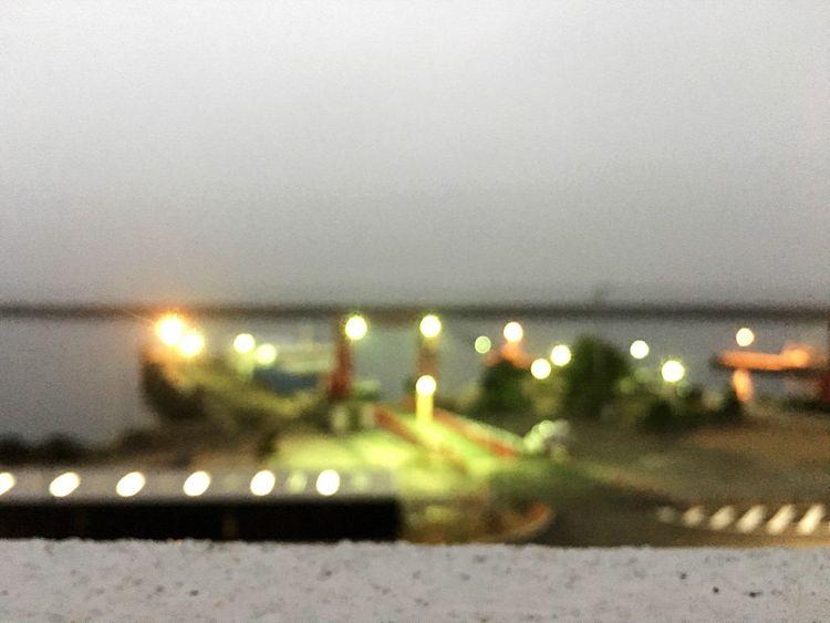Sea Port City Dawn
