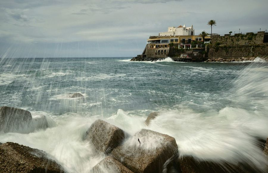 Forio Ischia Italy Campania Tourism Waves Sea Longexposure Wave No People Water Beauty In Nature Outdoors Day Wake - Water Holiday Vacation EyEmNewHere EyeEmNewHere