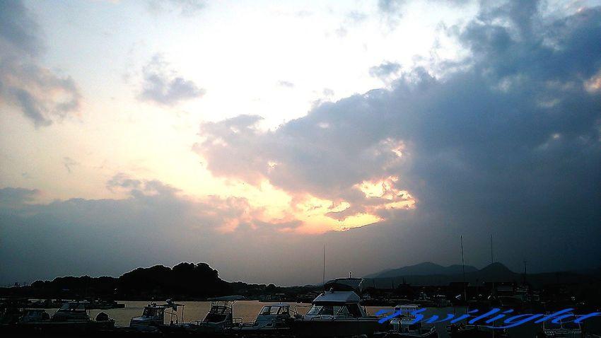 ちょっとだけ…焼けた~(^o^) Miyazaki Kushima 夕凪 Twilight Relaxing Yuka  Healing Pray For Kyushu Fresh Air