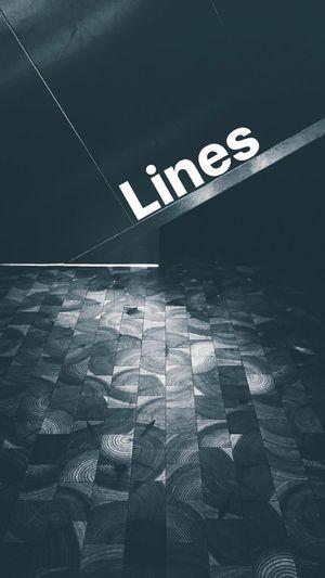 When bored - Find beauty around you   Tiled Floor Flooring Geometric Shape Pedestrian Walkway No People Blackandwhite Monochrome Urban Eye4photography  EyeEm Best Shots EyeEm Gallery Darkness Lines Wood Metal