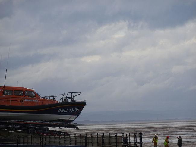 Nautical Vessel Lifeboat RNLI Beach Coastline Outdoors