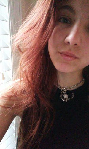 selfie girl Redhead teen