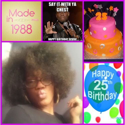 ???????? Happy Birthday to my sister Devin aka @They_CallMeDev!!! May God continue to bless and keep you as you venture into your mid 20's. I thank God for blessing me with not only a sister, but a best friend ❤ HappyBirthday HappyBirthdayDevin HBD 25YearsOld 25thBirthday 25AndFabulous 25AndAllTheWayLIVE!!! aQuarterOfACentury