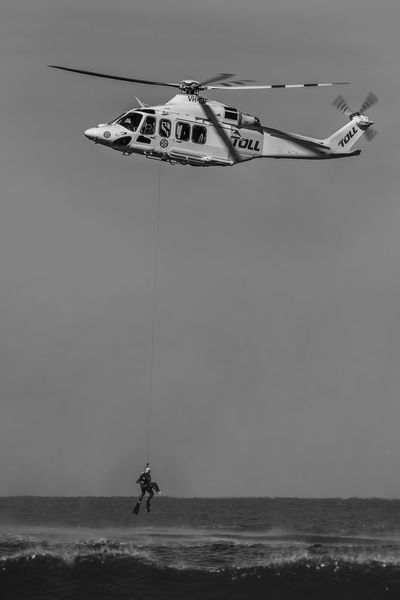 Helicopter Black And White Photography Helicopter Hoist Helicopter Rescue Helicopter Water Rescue Rescue Rescue Worker Surf Rescue Water Rescue Water Rescue Unit