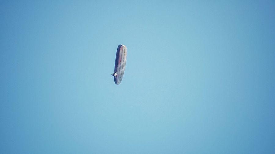 Paragliding...