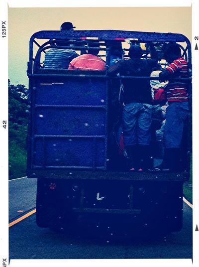 Panama transport system EyeEm Panamá Meetup Ontheroad Enjoying Life People