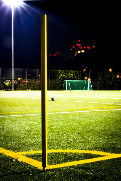 Late night soccer Architecture Competitive Sport Floodlight Fresh On Eyeem  Fussball Goal Grass Green Color Illuminated Lighting Equipment Match - Sport Night No People Outdoors Playing Field Sky Skyscraper Soccer Soccer Field Sport Sportplatz Stadium Training Training Time Yard Line - Sport The City Light Art Is Everywhere Place Of Heart Neon Life Paint The Town Yellow