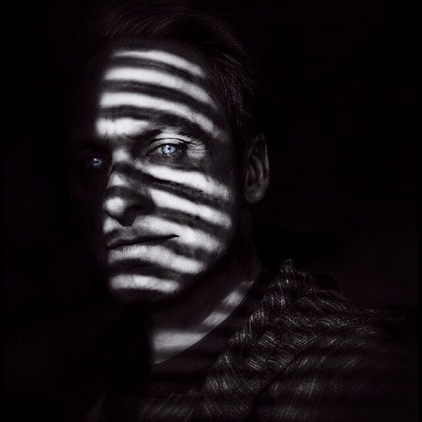 AMPt_community AMPt - Stripes Science Fiction NEM SciFi Darkart Notes From The Underground Noir Self Portrait Light In The Darkness Creative Light And Shadow