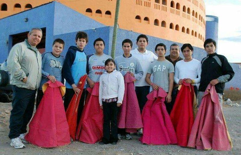 los inicios de la Academia Taurina del Coliseo Centenario Mi Hija Mis Hijos Toreros Toros