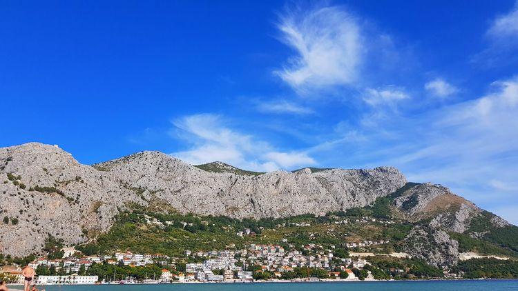 Omis Croatia Omis Croatia Holiday Water Coast Adriatic Riviera Adriatic Sea Adriatic Coast Travel Vacations