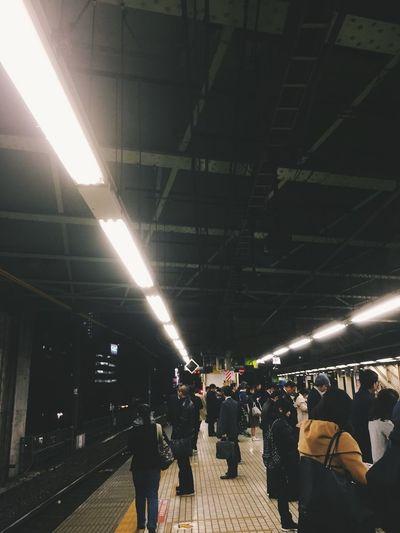 Japan Tokyo Train Station