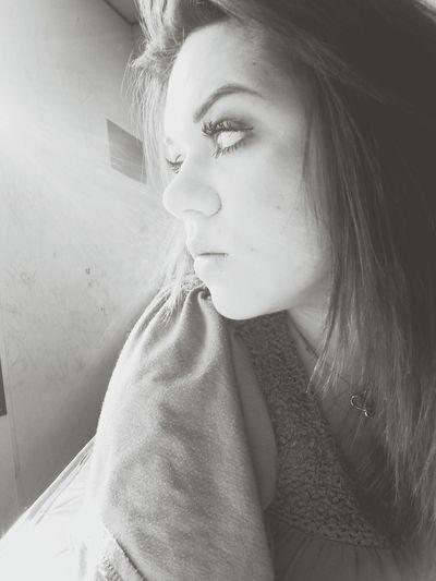 Relaxing Taking Photos Sunshine Blackandwhite Eye Lashes