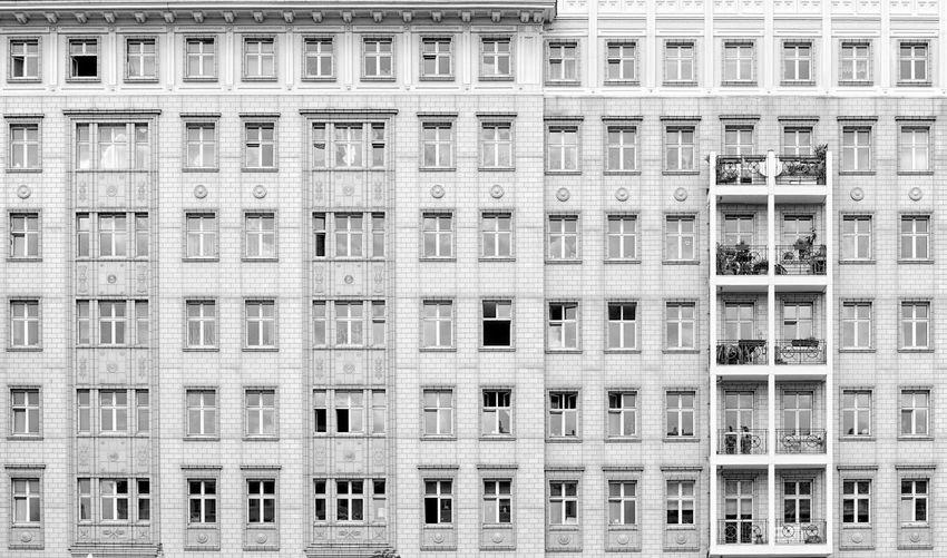Frankfurter Allee, Berlin, Germany Berlin Architecture Building Building Exterior Built Structure City Day East Berlin Facades Frankfurter Allee Stalinallee
