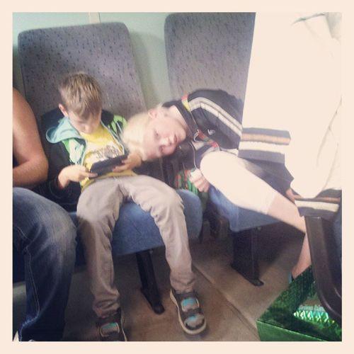 Resenärer, trötta sådana