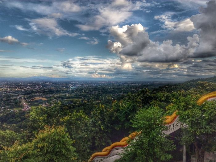 ฟ้ากว้าง Outdoors Nature No People Sky Landscape Mountain Day Tree Beauty In Nature Huawei Chiangmai,Thailand Thailand🇹🇭 Green Yellow Stairway Staircase