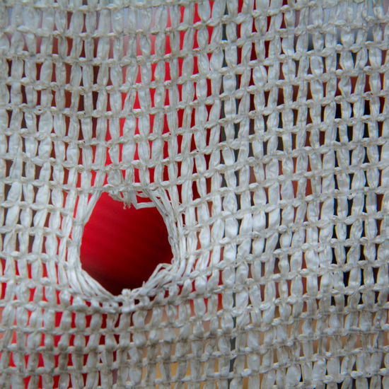 Peep & See Red Abstract Close-up Day Full Frame Indoors  Mesh No People Pattern Red Red Urban Geometry Urban Lifestyle Canonphotography Beautifully Organized Adapted To The City Premium Collection