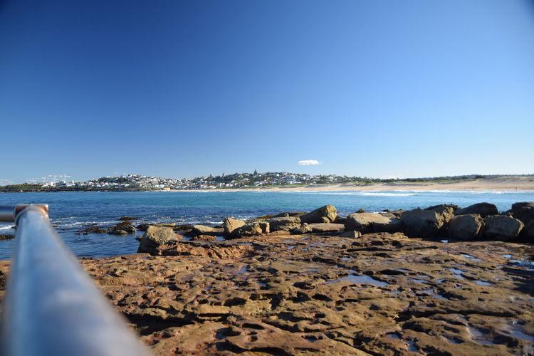 Shore Blue Sky
