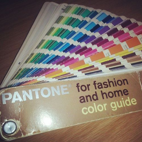 Thisbookrulesmylife Love Pantone Fashionindustry @alexfenwick9